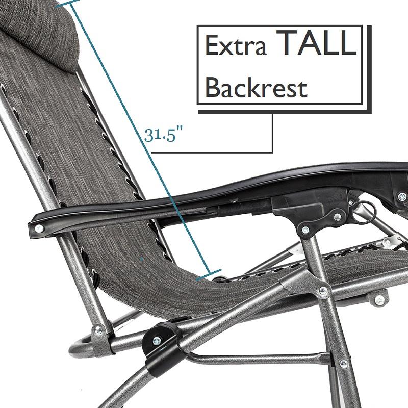Extra Long Zero Gravity Chair
