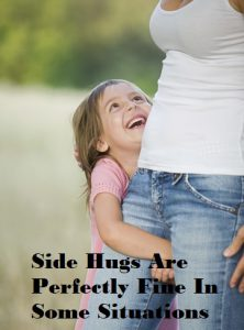 how to hug someone taller than you