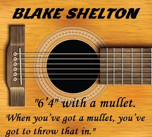 How Tall Is Blake Shelton