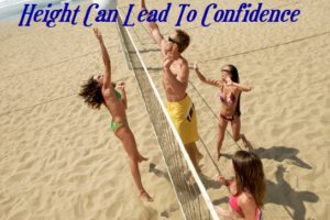 Height Leads To Confidence Through Sports