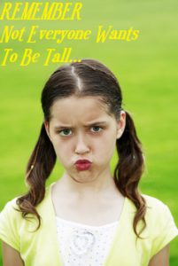 Not Every Teens Wants To Be Tall