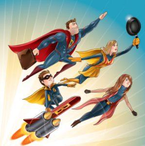 Superhero Costumes Tall People