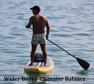 Extra Wide Paddle Board