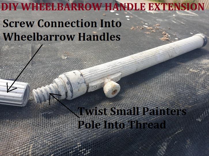 How To Extend Wheelbarrow Handles