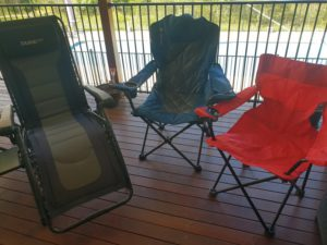 Tall Sitting Camp Chairs