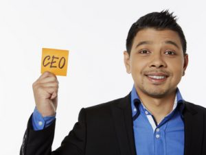 Tall CEO Business Career