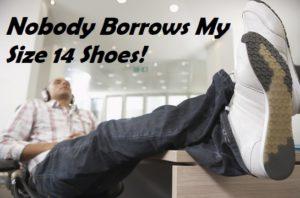 Benefits of big feet