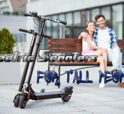 Best Electric Scooters For Tall People