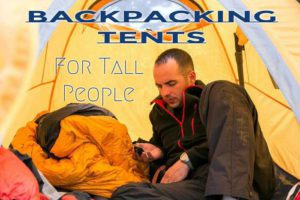Best Backpacking Tents For Tall People