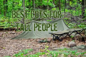 Best Camping Cots For Tall People